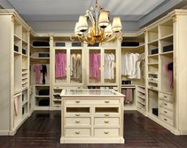 Гардеробные и шкафы